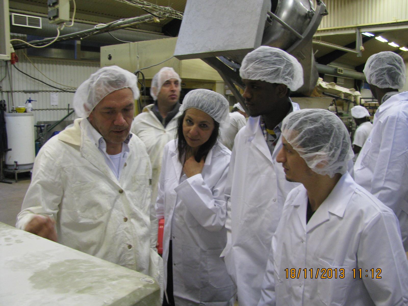 besök fabrik abc