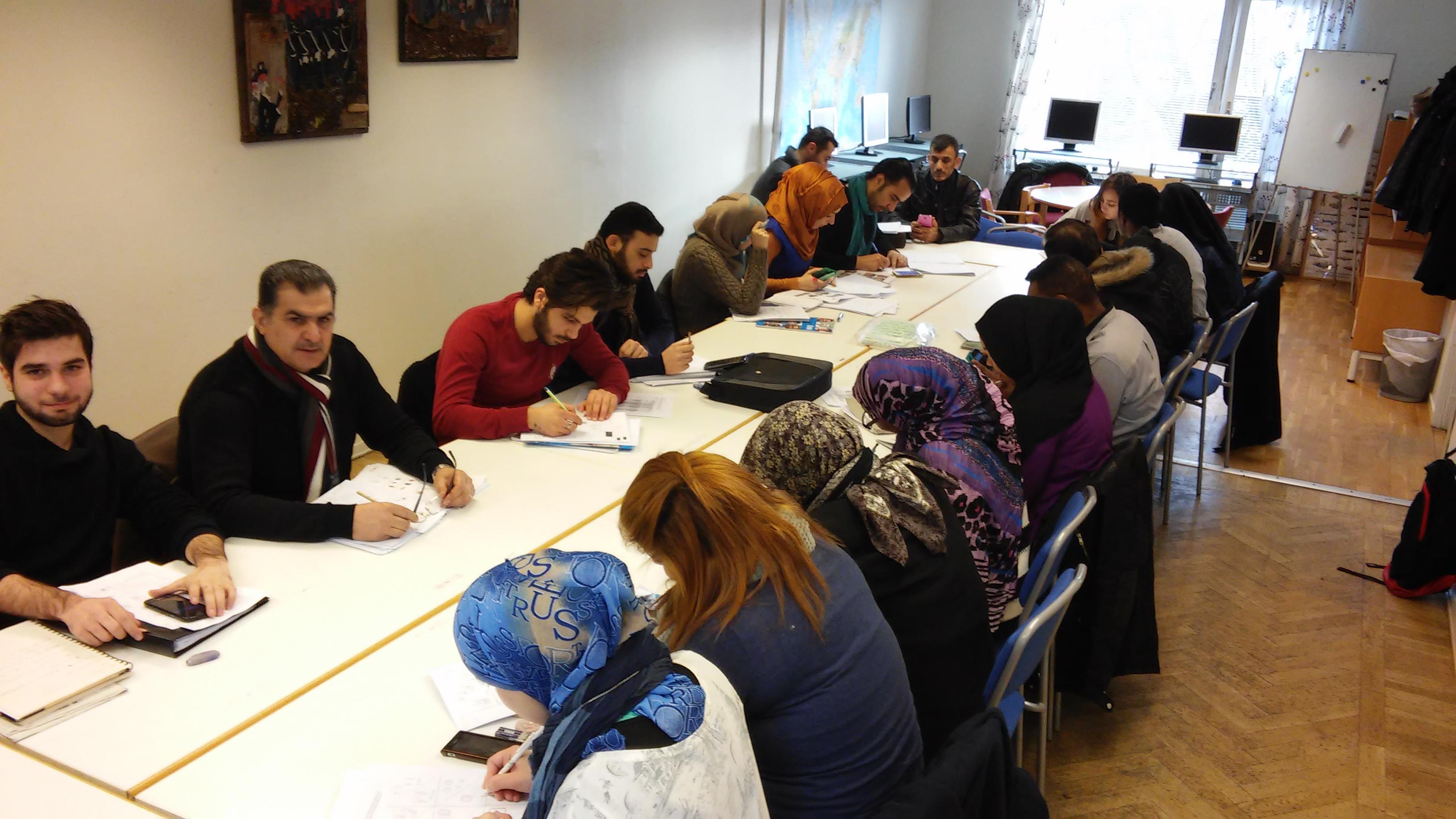 arabiska deltagare klass