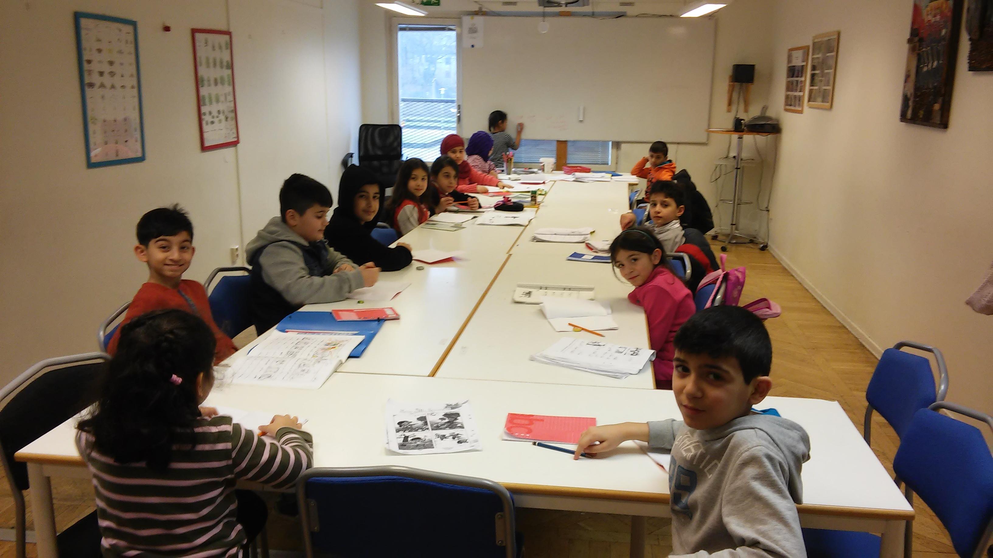 Elever barn ABC